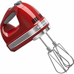 Sähkövatkain KitchenAid 5KHM9212, 9-nopeuksinen, punainen