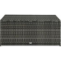 Säilytyslaatikko Zahara 61x60x130 cm harmaa
