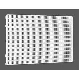 Valkoinen Elfa Utility Home säilytystaulu 598x382x15 mm