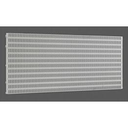 Platinan värinen Elfa Utility Home säilytystaulu 893x382x15 mm