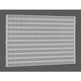Platinan värinen Elfa Utility Home/Garage säilytystaulu 598x382x15 mm