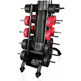 Säilytysteline Gymstick 30 Pro Pump Setille