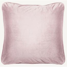 Samettityyny Lennol Melanie 50x50 cm vaalea roosa