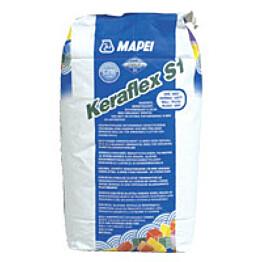 Saneerauslaasti Keraflex S1 5 kg valkoinen