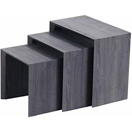 Sarjapöytä Tenstar Näpsä harmaa