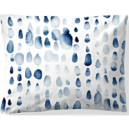 Satiinityynyliina Finlayson Sula 50x60 cm valkoinen/sininen