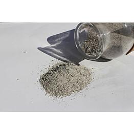 Saumaushiekka Rudus 0-1 mm luonnonharmaa 25 kg/säkki