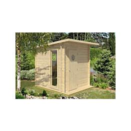 Sauna Polhus Adam 4 m² 2126x2423x2422 mm 70 mm