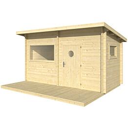 Sauna Polhus Paavo 3595x4196x2498 mm 8 m2 44 mm