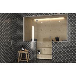 Saunan lasiseinä Hietakari Vetro 649 ovi + 2 sivulasia