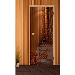 Saunan ovi Kuviolasi 7-9x19-21 eri kuviovaihtoehtoja