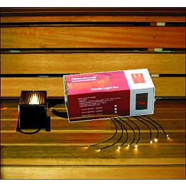 Saunavalaistussarja Sauna Light Kit 1 projektori + 15 kuitua