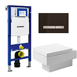 Seinä-WC -paketti Duravit Vero Geberit Duofix 112