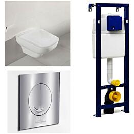 Seinä-WC -paketti Villeroy & Boch Joyce