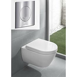 Seinä-WC-paketti Subway 2.0 DirectFlush Ceramicplus, täydellinen, V&B-kromipainike