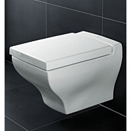 Seinä-WC Ceramicplus-pinnoitteella Villeroy & Boch La Belle 5627 385x585 mm Valkoinen Alpin