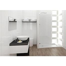 Seinälaatta Kymppi-Lattiat Pure White Glossy kiiltävä 300x600 mm
