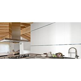Seinälaatta Kymppi-Lattiat Pure White Matte matta 300x600 mm rektifioitu