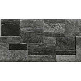 Seinälaatta LPC Andalucia Antrasiitti 33,3x66,6 cm matta