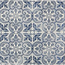Seinälaatta LPC Porto Art Sininen satunnainen sekoitus 20x20 cm kiiltävä