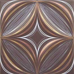 Seinälaatta Kymppi-Lattiat Polaris dec Star Cacao 20x20cm