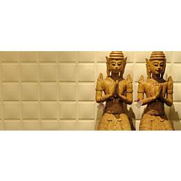 Seinäpaneeli WallArt 3D Cubes 500x500 mm 12 kpl/pak
