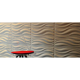 Seinäpaneeli WallArt 3D Waves 500x500 mm 12 kpl/pak