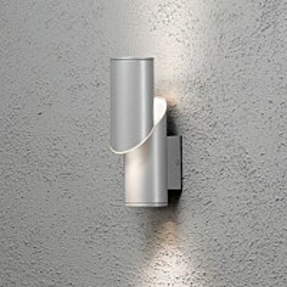 LED-seinävalaisin Imola 7935-310 80x150x260 mm ylös/alas alumiini