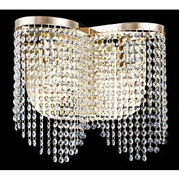 Seinävalaisin Maytoni Diamant Crystal Toils kulta