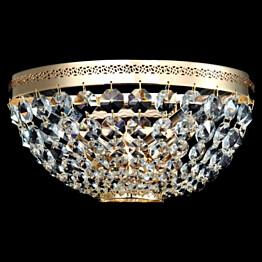 Seinävalaisin Maytoni Diamant Ottilia kulta/kristalli
