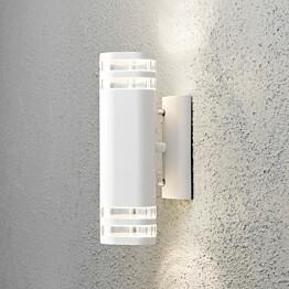 Seinävalaisin Modena 7516-250 90x145x285 mm ylös/alas valkoinen