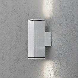Seinävalaisin Monza 7907-310 65x100x200 mm ylös/alas alumiini