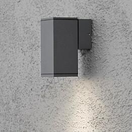 Seinävalaisin Monza 7908-370 65x100x135 mm alas antrasiitti