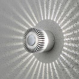 LED-seinävalaisin Monza 7900-310 Ø 90x80 mm alumiini