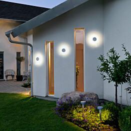 LED-seinävalaisin Pesaro 7909-310 Ø 130x95 mm alumiini