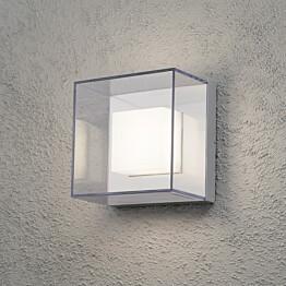 LED-seinävalaisin Sanremo 7925-310 210x140x210 mm alumiini/kirkas