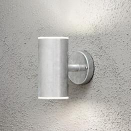 LED-seinävalaisin Ull 590-320 115x180x200 mm ylös/alas sinkitty teräs