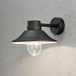 LED-seinävalaisin Vega 412-750 290x360x265 mm musta