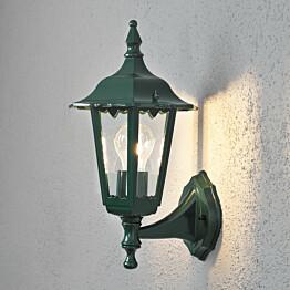 Seinävalaisin Firenze 7232-600 190x220x360 mm pieni yläsuunta vihreä