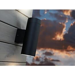 Seinävalaisin Tin Maxi 75x125x195 mm ylös/alas musta