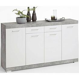 Senkki Cottbus betoninharmaa/valkoinen