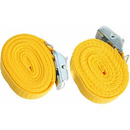 Sidontaliina Piippo keltainen 200cm 2 kpl/pss