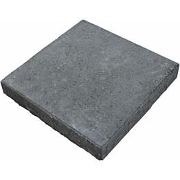 Sileä betonilaatta Rudus 420x420x60mm mustaharmaa
