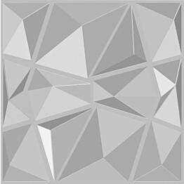 Sisustuslevy Mannerlaatta 3D Diamond 500x500 mm