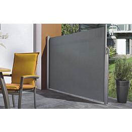 Sivumarkiisi Pisla 1,2x3 m akryyli harmaa