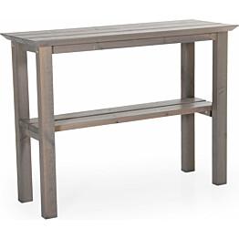 Sivupöytä Birka 45x120cm harmaa