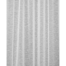 Sivuverho Lennol Ariel, 140x260cm, harmaa, taustalenkeillä