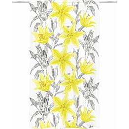 Sivuverho Vallila Lily 140x250cm keltainen