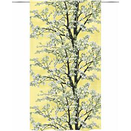 Sivuverho Vallila Omenapuu 140x250cm keltainen