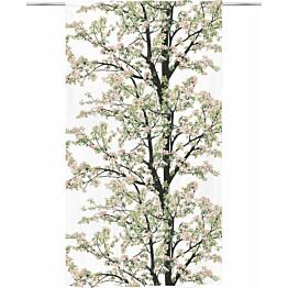 Sivuverho Vallila Omenapuu 140x250cm pinkki